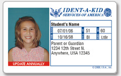 Ident-a-Kid Child ID Franchise for Sale